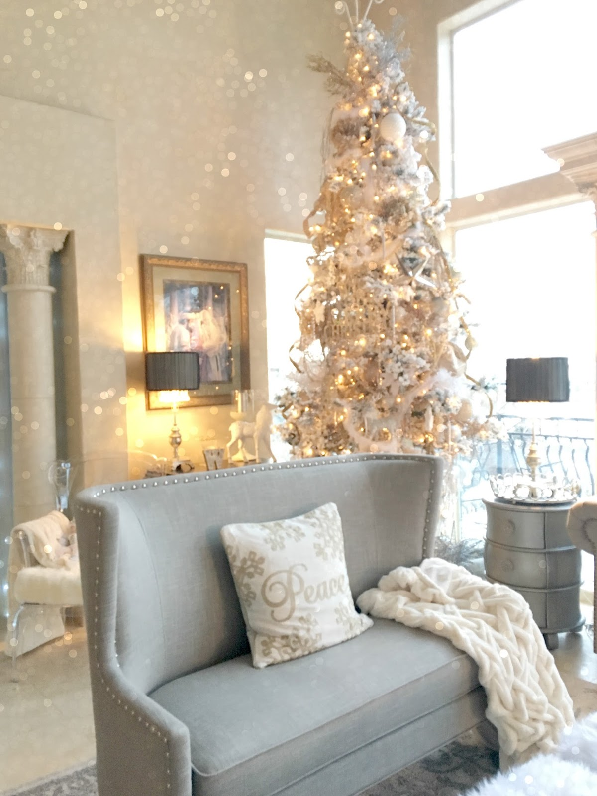 New Living Room New Living Room Reveal Purple Chocolat Home