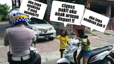 Meme Lucu Siswa Yang Megaku Anak Jendral