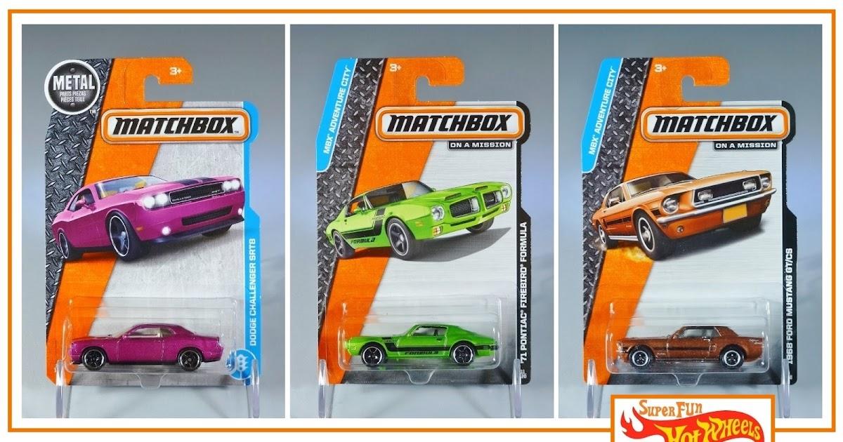 Matchbox 2017 Metall Teile Piezas /'71 Pontiac Firebird Formel