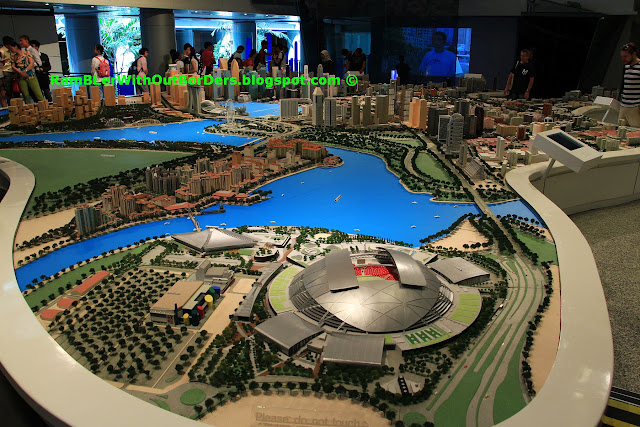 Sports Hub, City Centre Model,  Singapore City Gallery, Singapore