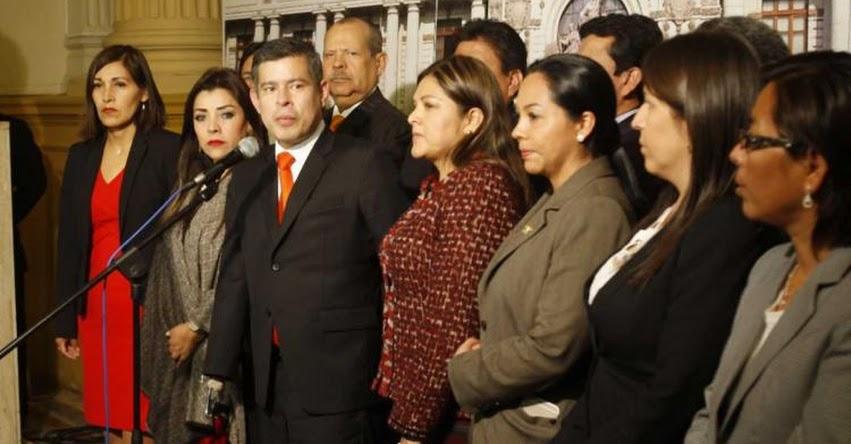 En Fuerza Popular hay «democracia», asegura su vocero el parlamentario fujimorista Luis Galarreta