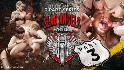 TS Seduction – Slag Angels on Wheels: Episode 3 – Natassia Dreams, Pierce Paris, Natalie Mars, Lena Kelly, Shiri Allwood