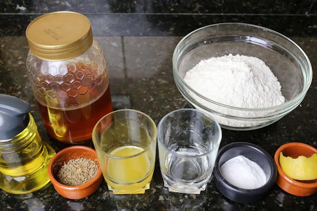 Ingredientes para tortas de la abuela
