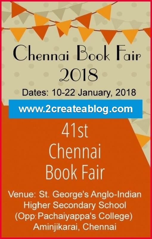 Chennai Book Fair 2018
