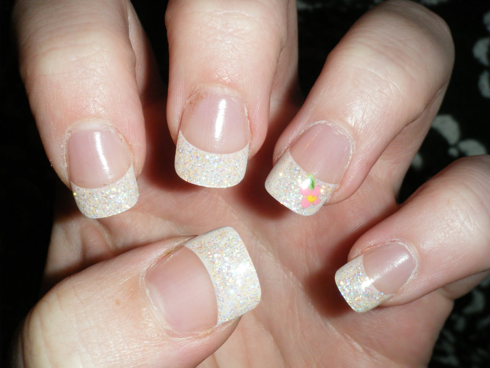 White Tip Nail Designs