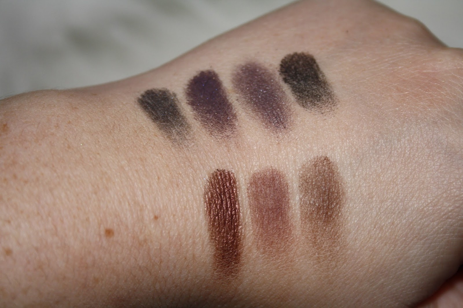 Smashbox Cosmetics Double Exposure Palette Swatches