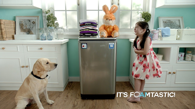 "Panasonic launches ""It's Foamtastic! Lots of Jhaag, no no Daag"" campaign for its FoamPremia washing machine range"