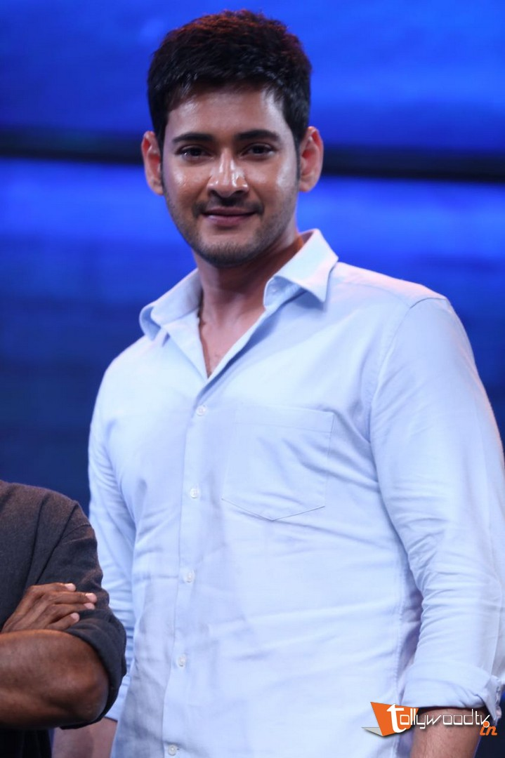 Mahesh Babu At Spyder Audio Launch-HQ-Photo-11