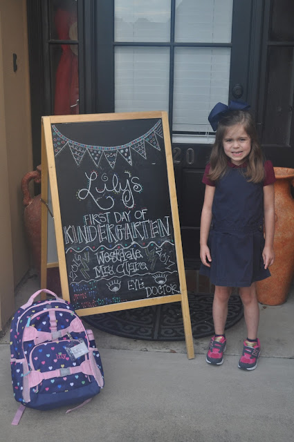Lily's First Day of Kindergarten