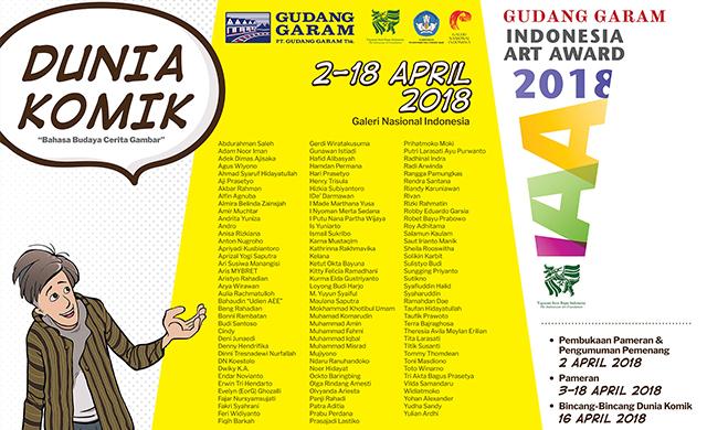 Pameran Karya Terpilih Indonesia Art Award 2018 Kembali Digelar di Galeri Nasional !