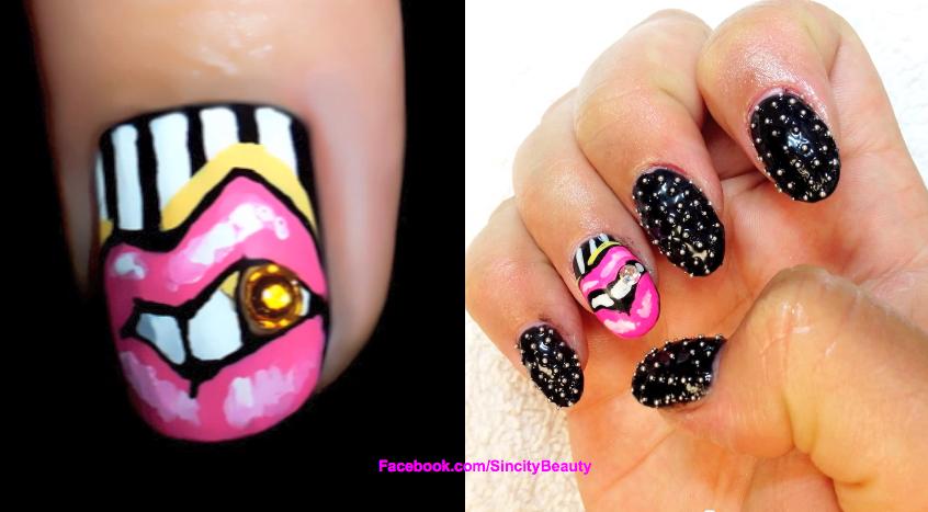 Pin Gangsta Nail Designs on Pinterest