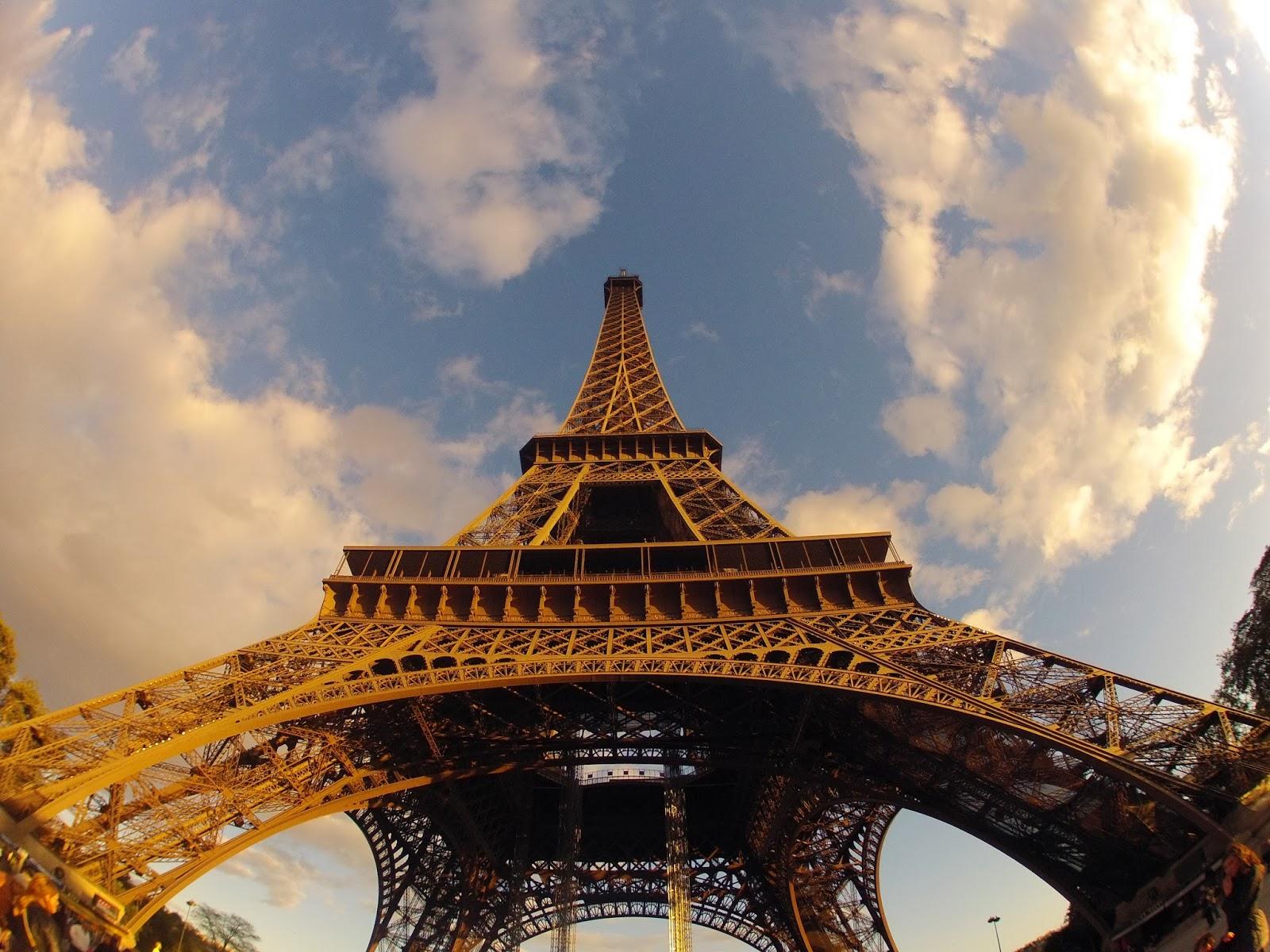 GoPro Puesta de Sol en la Torre Eiffel, Paris