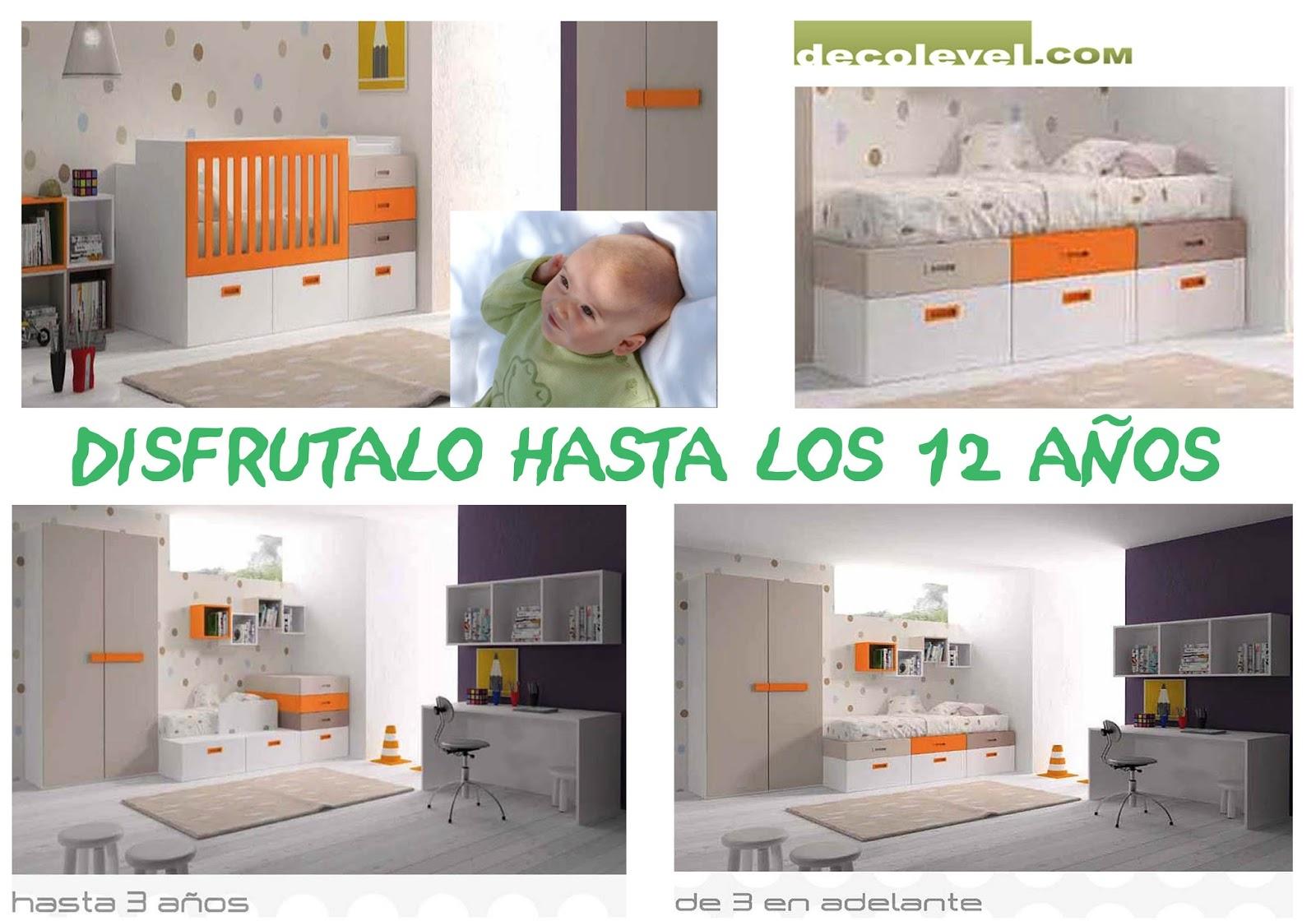 Muebles de bebes decolevel sofas muebles armarios for Muebles bebe barcelona