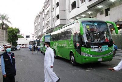 Bus Shalawat Beroperasi di Madinah Untuk Pertama Kalinya