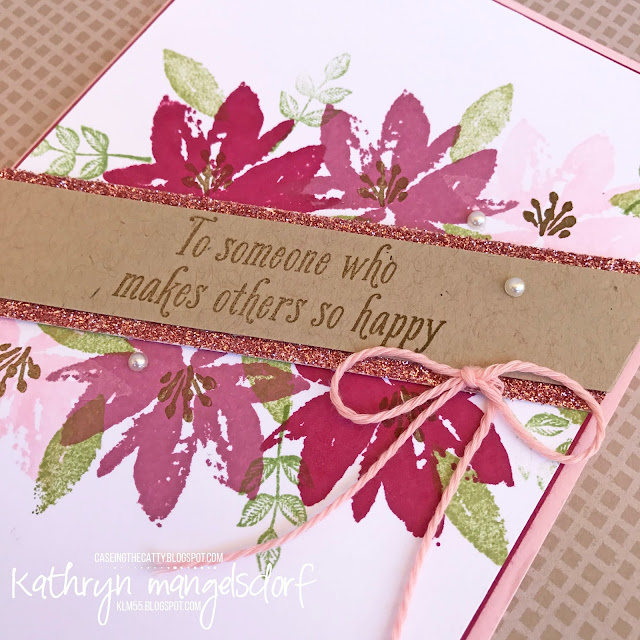 Stampin' Up! Avant Garden, Sale-A-Bration created by Kathryn Mangelsdorf