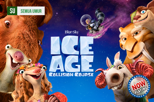 Film ICE AGE: COLLISION COURSE Bioskop