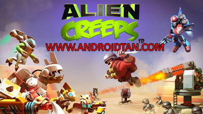 Download Alien Creeps TD Mod Apk v2.10.3 (Unlimited Coins/Gems) Terbaru 2017