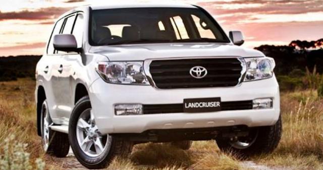 2017 Toyota Land Cruiser Performance