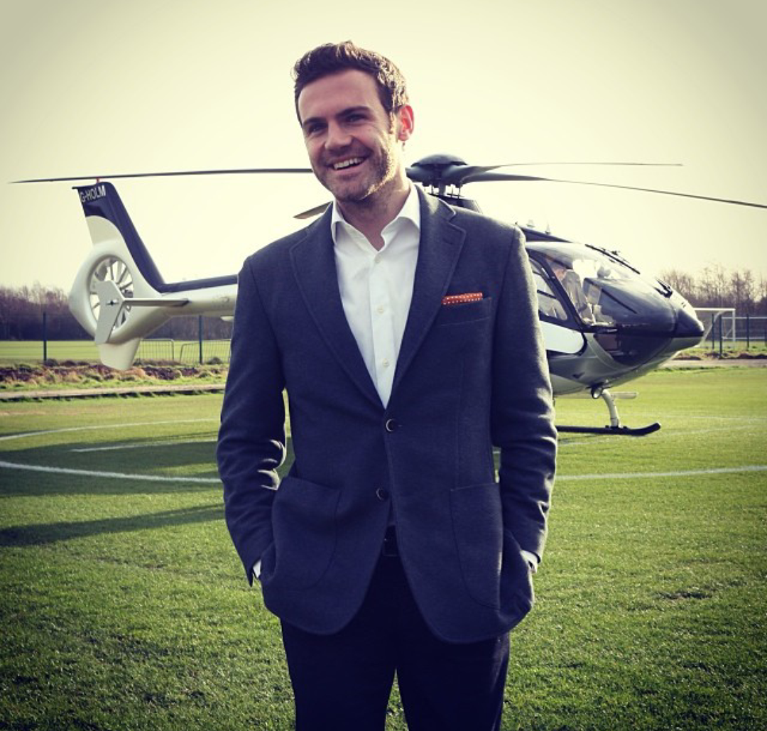 PHOTO] Juan Mata Arrives In Private Jet To Meet David Moyes