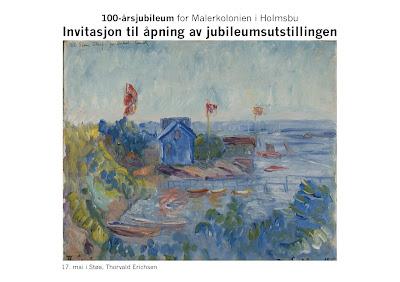 100-årsjubileum for Malerkolonien i Holmsbu