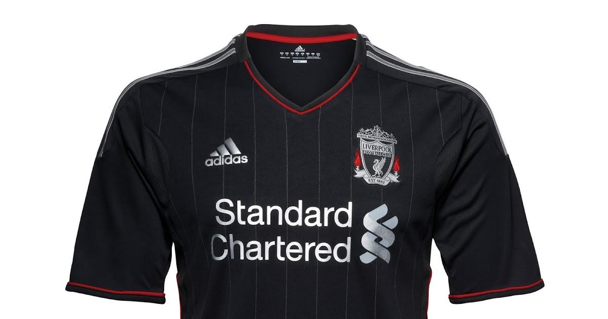 Camisaria Futebol Clube: Nova Camisa Reserva Do Liverpool