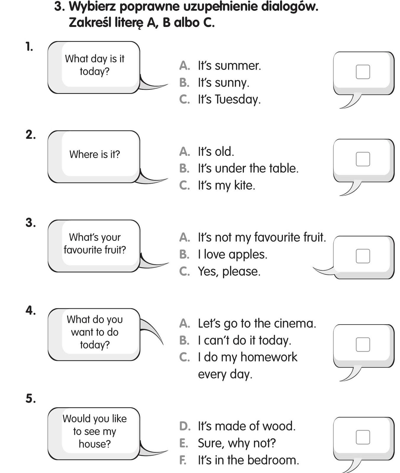 pwc przykładowe testy z angielskiego