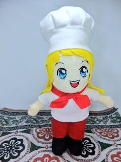 boneka profesi chef