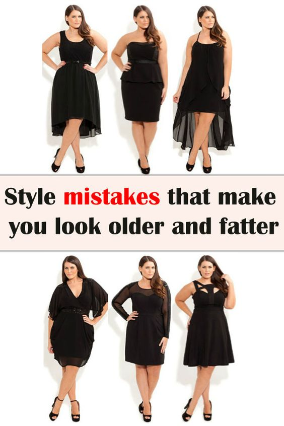 Fashion Mistakes That Make You Look Older