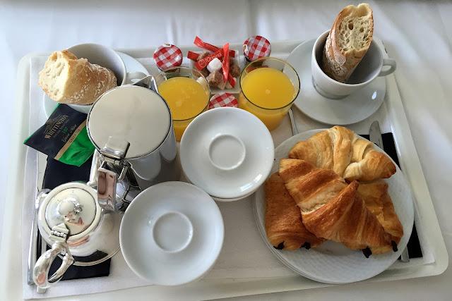 Le petit déjeuner sucré de l'Hôtel Windsor, Biarritz