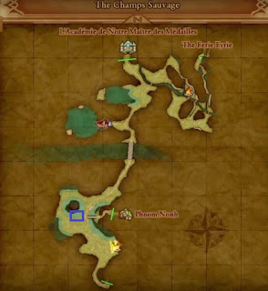 Weather Cow Location, Dragon Quest 11, Champs Sauvages