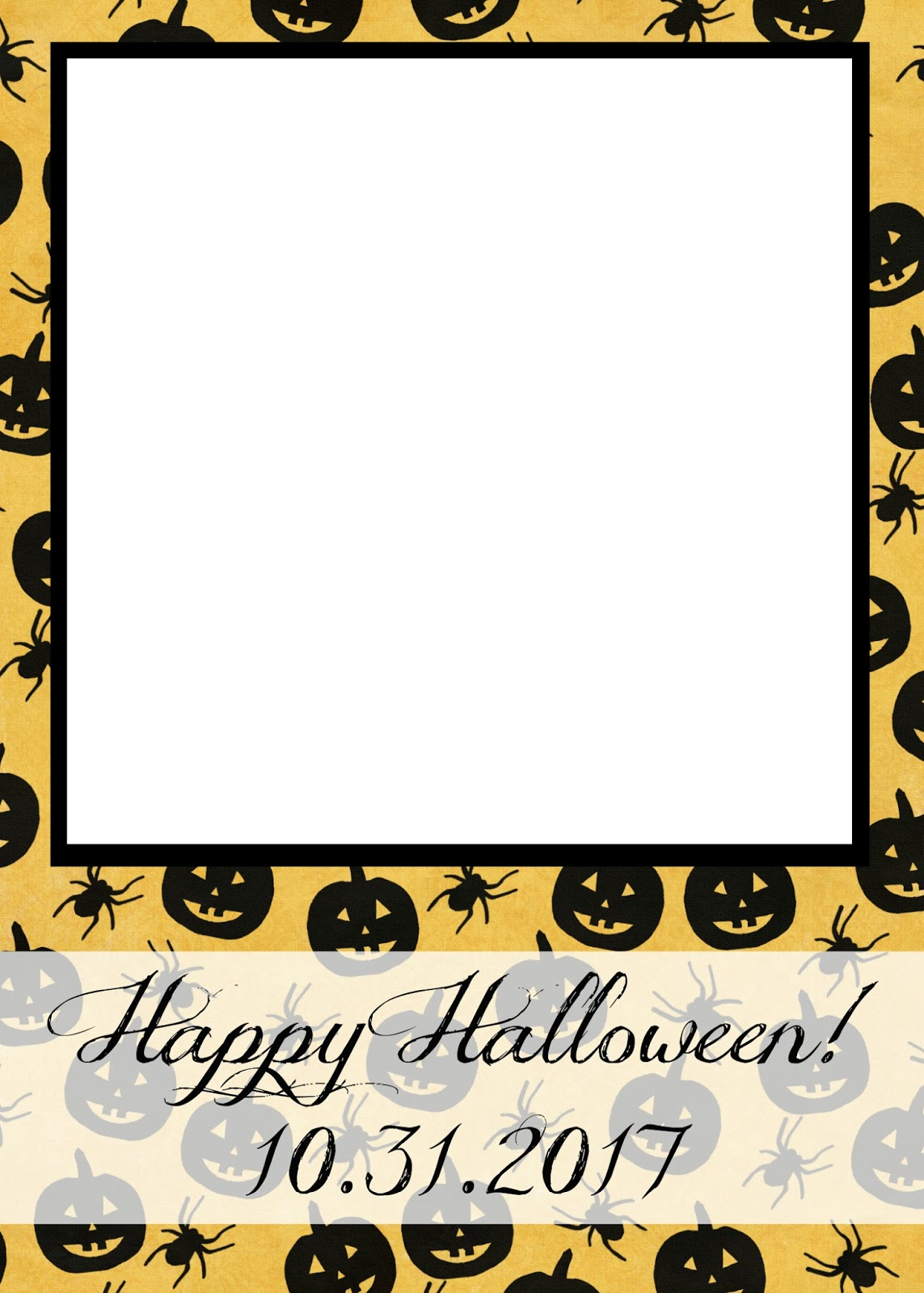 Free Printable Halloween Photo Cards
