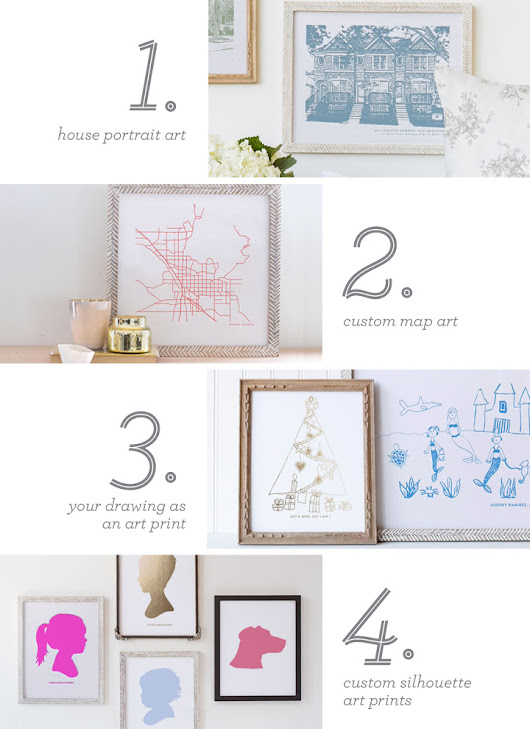 CUSTOM FRAMED ART FROM MINTED: The Perfect Holiday Gift