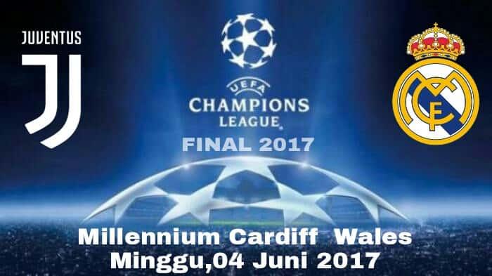 final liga champions Juventus Vs Real Madrid