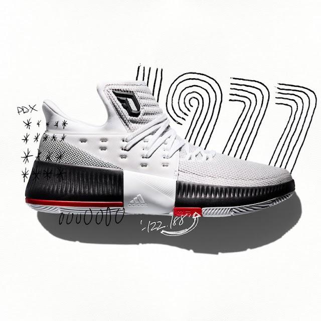 """Un primer vistazo! a las nuevas Adidas """"The Dame 3"""""""