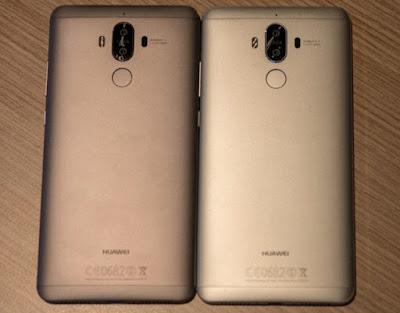 Huawei Mate 9's Back