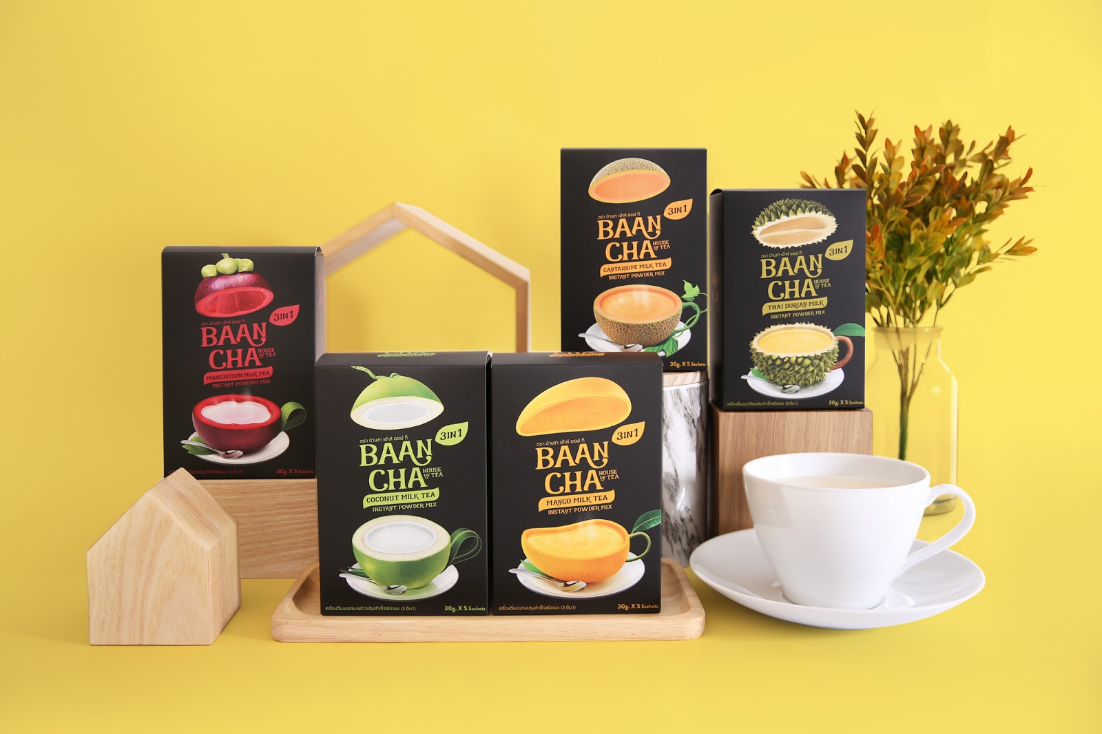 Baancha House Of Tea On Packaging Of The World Creative