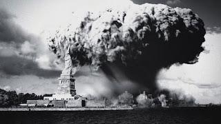 Supuesto bombardeo atómico sobre Nueva York