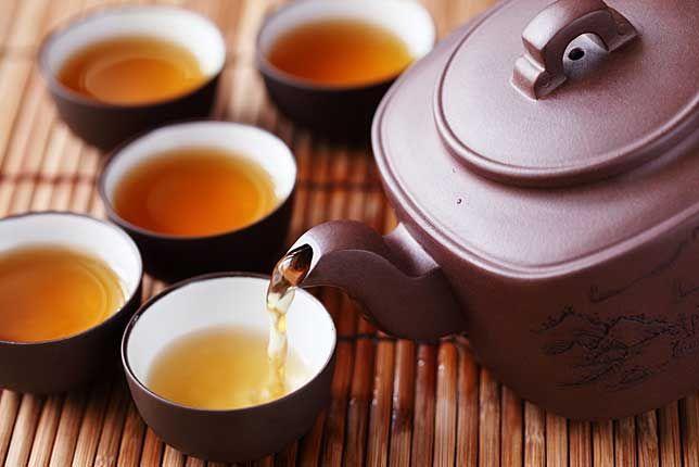 Axit và kiềm trong trà xanh