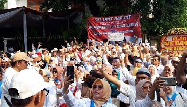 Jasma PADI Doakan Prabowo Sandi Menjadi Pemimpin Amanah