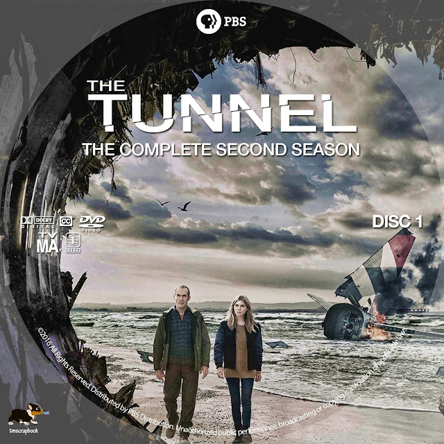 The Tunnel Season 2 Disc 1 DVD Label