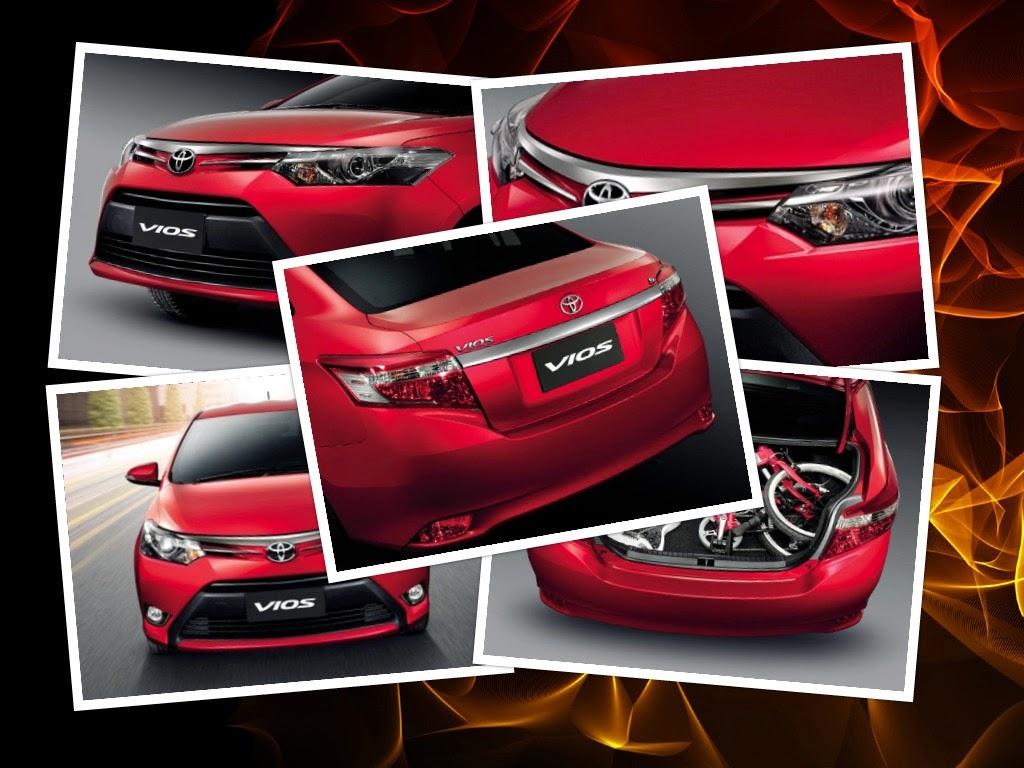 Ngoại thất Toyota Vios 2014