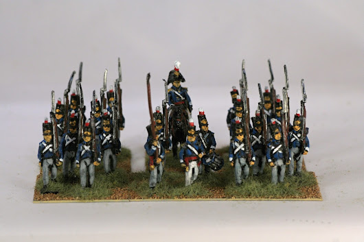 Portuguese Infantry 1809-1811.