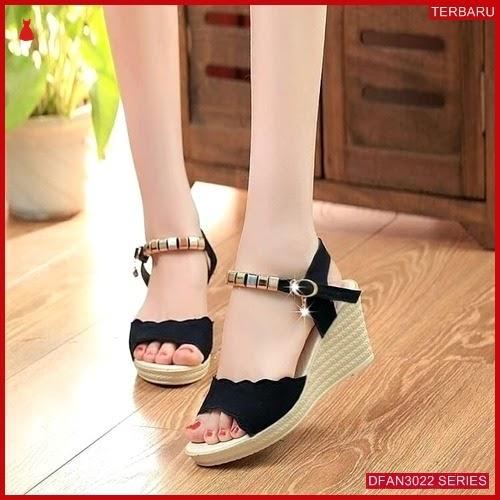 DFAN3022S173 Sepatu Pd07 Wedges Wedges Wanita Murah Terbaru BMGShop