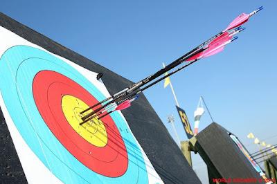 flechas en el tiro con arco