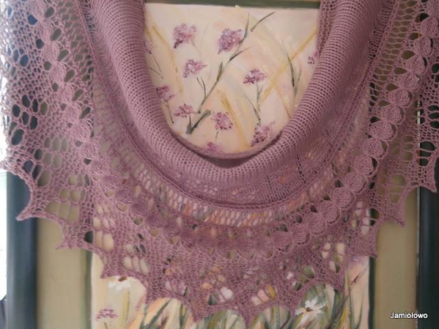 chusta zrobiona z bawełny według wzoruT.Schmidt
