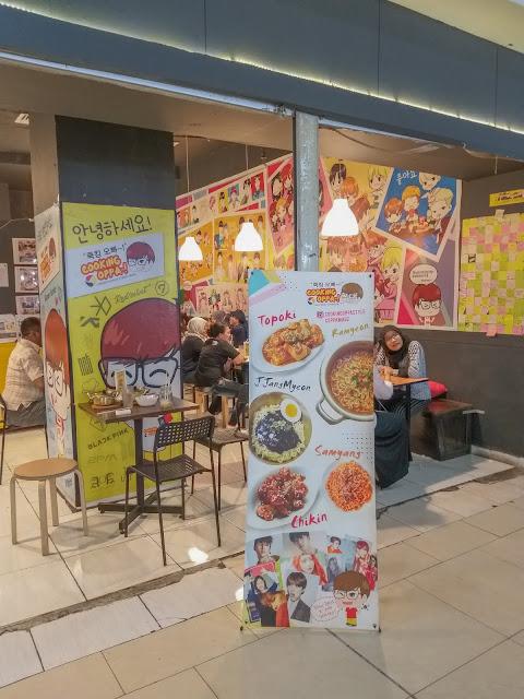 Cooking Oppa Blok M Square: Korean Food Murah di Jakarta