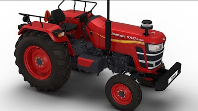 Mahindra YUVO Tractor side  hd image