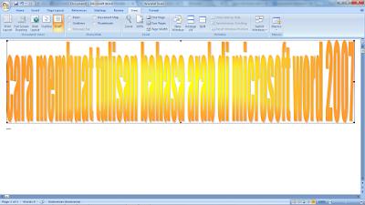 cara membuat tulisan bahasa arab di microsoft word 2007