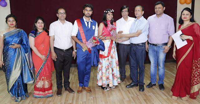 BBA Farewell at DAV College Faridabad