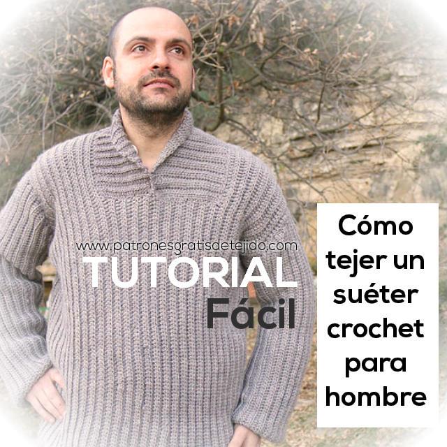 Tejer Sueter Para Hombre Dos Agujas - English Sweater Vest
